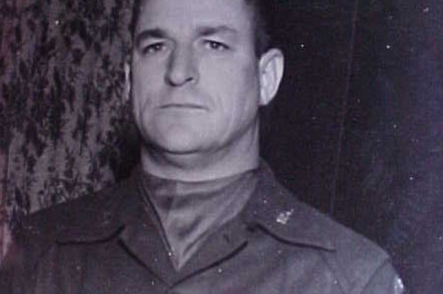 Sgt. 1st Class Robert F. Keiser, a former U.S. Army Military Policeman and CID Special Agent, models the new Army Military Police uniform in the fall of 1962.
