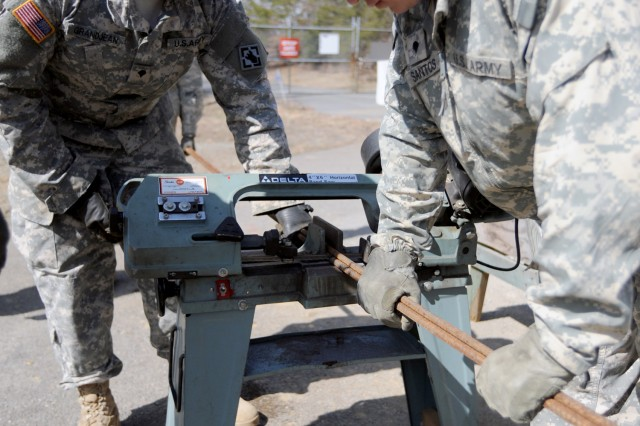 642nd Engineers continue projects at Fort A.P. Hill