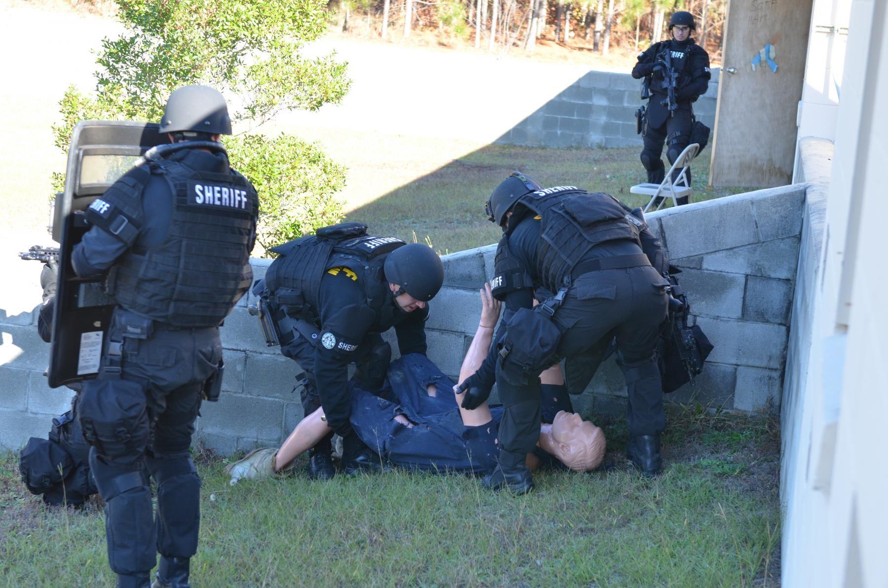 Law enforcement teams conduct collaborative training