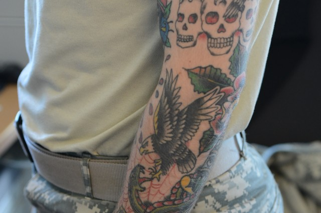 Army tightens personal appearance, tattoo policy | Article