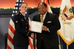 Sexual Assault Prevention advocate Spc. Natasha Schuette honored at Pentagon