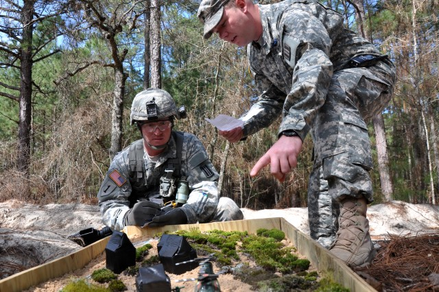 Fort Jackson, S.C., Soldiers put their skills to the test March 31 through April 4, 2014 for the coveted Expert Infantryman Badge, taking part in extensive field tests.