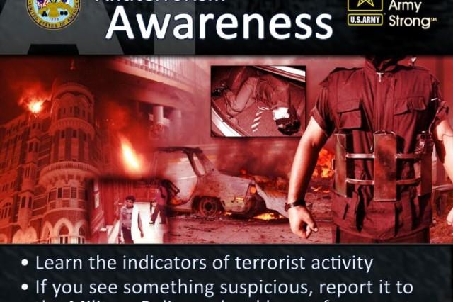 The Army's antiterrorism theme for the third quarter of FY14 is Antiterrorism Synchronization.