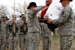 Engineer battalion sports new colors for new leader