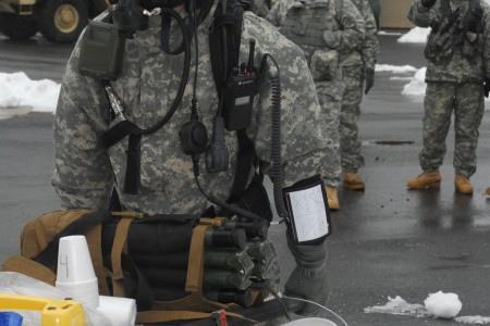 Soldiers Train Chemical Training Mission Article The United States Army