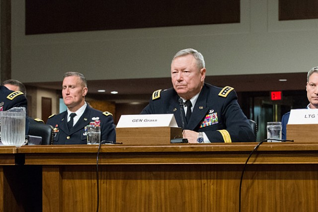 Army leaders testify about budgets and end force strength