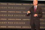 War College students, Army leaders discuss promoting ideas during 'Leader Day' discussion