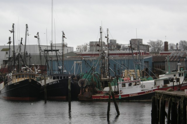 Small Commercial fishing vessels in Rhode Island. (Photo Courtesy National Oceanic and Atmospheric Administration)