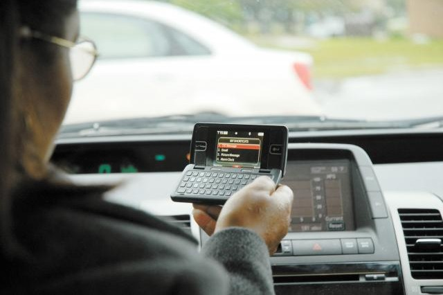 Presidio of Monterey Police Department Joins Crackdown on Texting and Handheld Cell Use Behind the Wheel