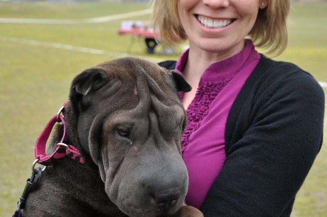 Owners and their pets turned out April 6 at the Fort Jackson Youth Sports Complex for the annual April Foolish Dog Show. Categories for this year's events included Best Kisser, Prettiest Eyes, Most Mysterious Heritage and Coolest Trick.