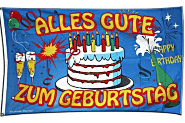 Поздравления с днем рождение на немецком