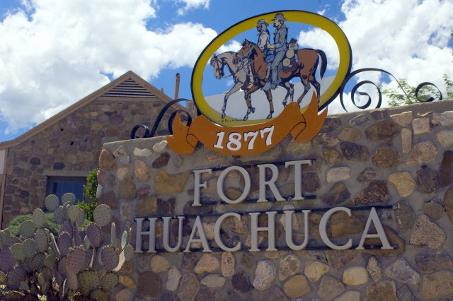 Fort Huachuca, Ariz., is the home of the U.S. Army Intelligence Center and the U.S. Army Network Enterprise Technology Command/9th Army Signal Command. Located in Cochise County, in southeast Arizona, about 15 miles north of the border with Mexico, Fort Huachuca was annexed in 1971 by the city of Sierra Vista and was declared a national landmark in 1976. The U.S. Army announced April 14, 2014, plans to start development of a solar array that will provide about 25 percent of the annual installation electricity requirement of Fort Huachuca.