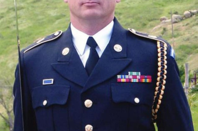 Sgt. Jonnie L. Stiles, pictured, was killed during combat operations in Afghanistan during a suicide bombing attack by an improvised explosive device Nov. 13, 2008. Recent changes to the U.S. Army's uniform code allow his stepbrother, Spc. Kenneth J. Stiles, to wear a Gold Star lapel pin while in uniform. Family of service members who have died while serving can wear a Gold Star lapel pin.