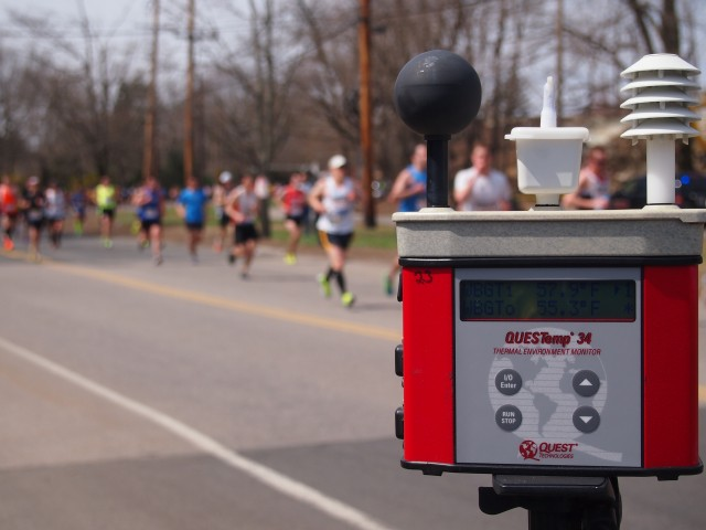 Army labs teams up with Boston Marathon to prevent heat injuries