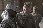SMA visits deployed Air Defense Artillery Soldiers