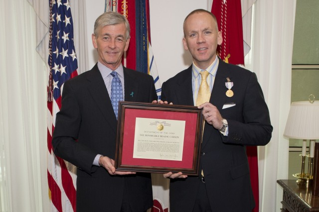 Under Secretary honored for strengthening the Army