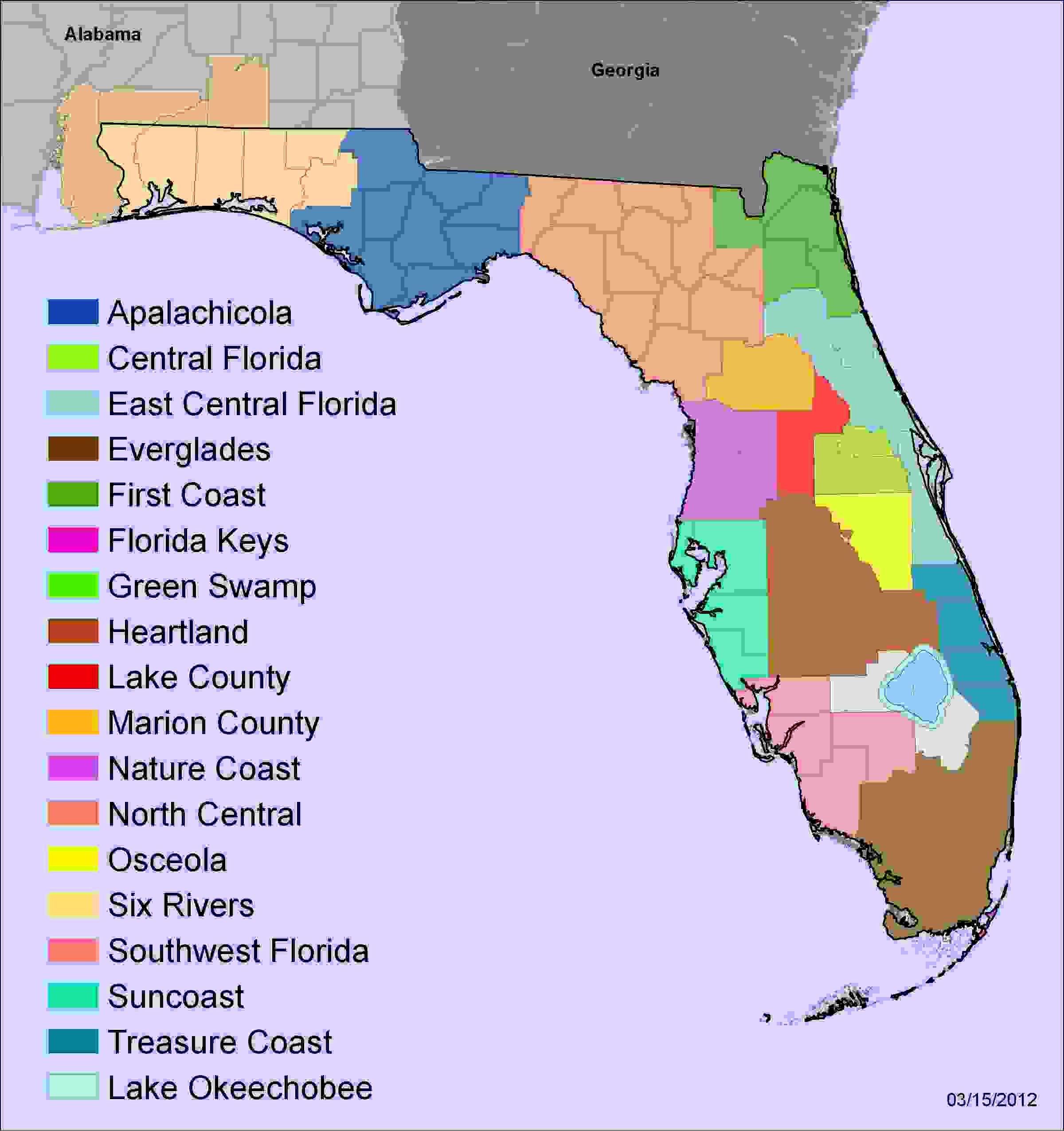 Nature Coast Florida Map.Working Together To Combat Invasive Species Article The United