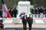 Chilean Defense Minster Honors America's Fallen Heroes