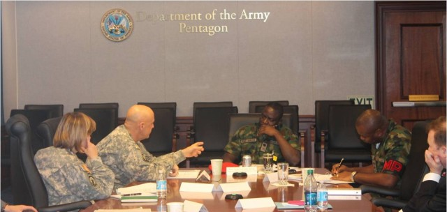 PMG6 hosts Detainee Operations Senior Leader Conference with Nigerian Army