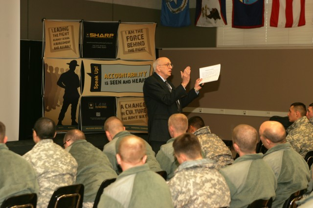 Sexual Assault Awareness Month: Shadley shares insights with Fort McCoy community
