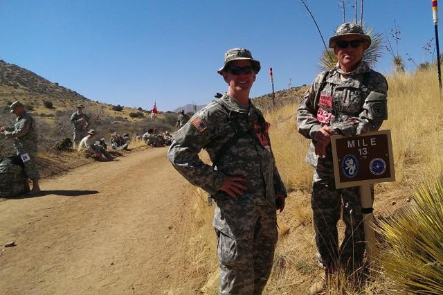 Sgt. 1st Class Donald Wagman, Sgt. 1st Class Timothy Britt.