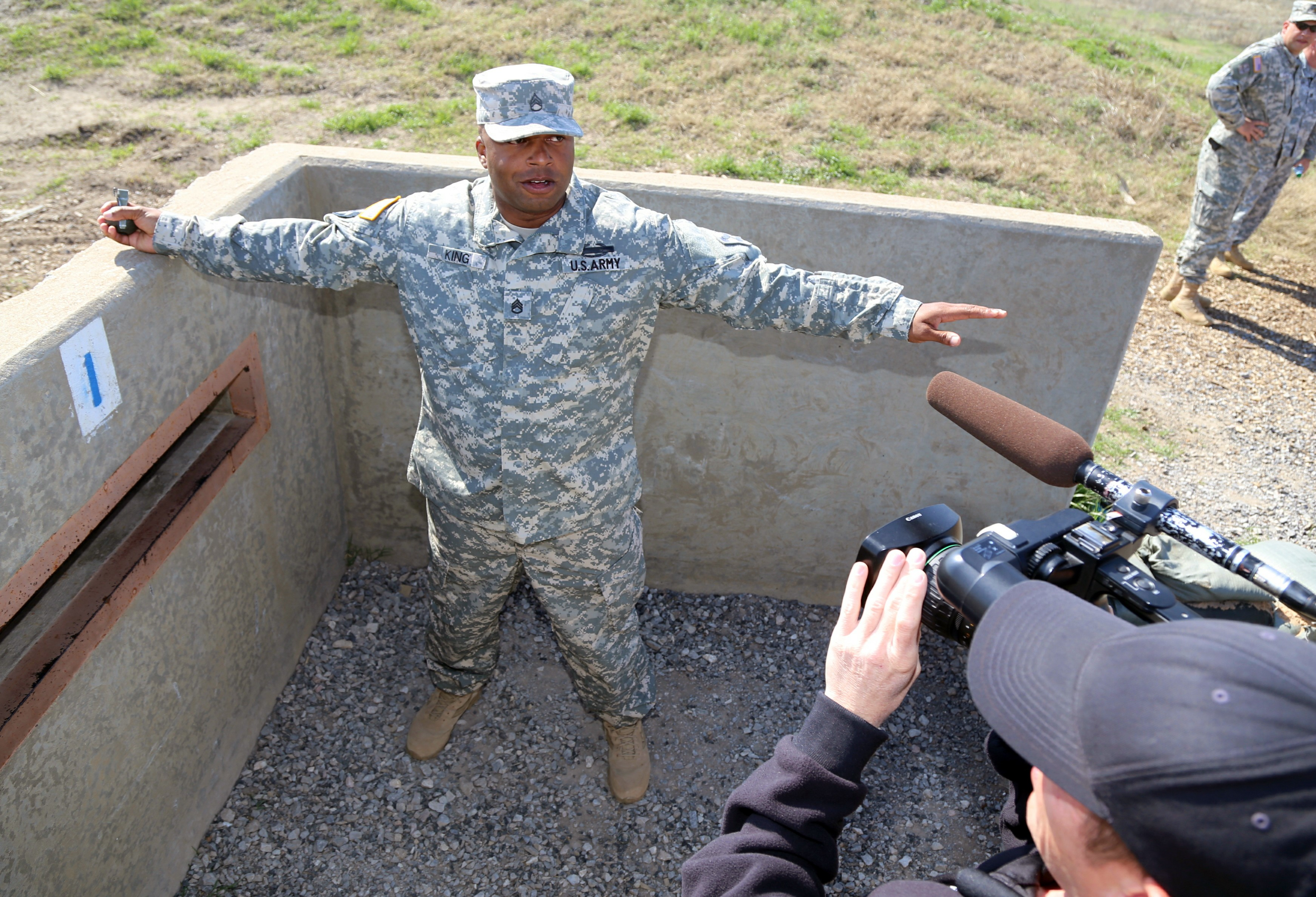 Fort Sill Soldier saves trainee, himself | Article | The