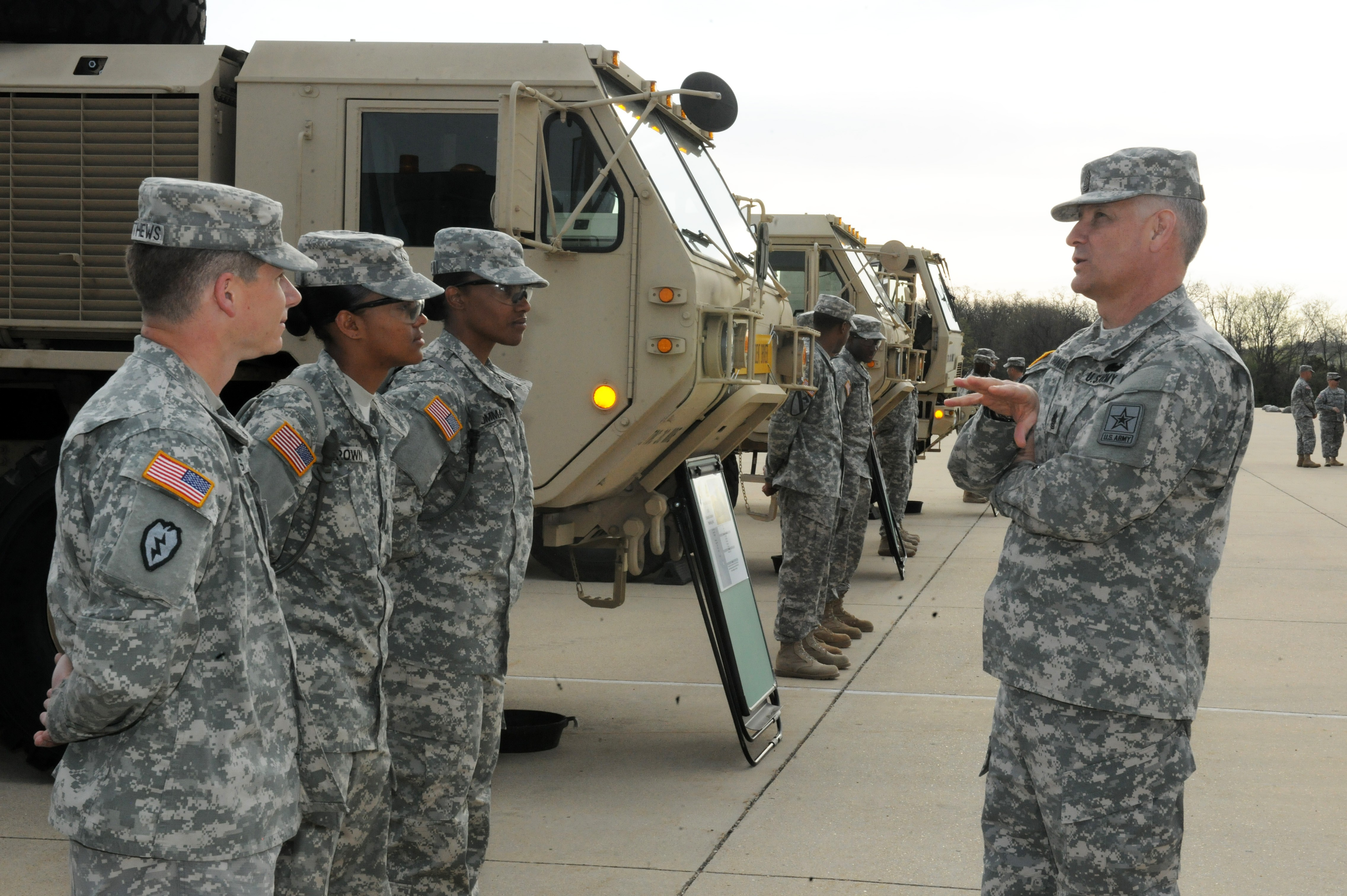 Sma views fort leonard wood 39 s unique training capabilities for 88m motor transport operator