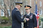 Col. Everett Spain receives the Soldier's Medal