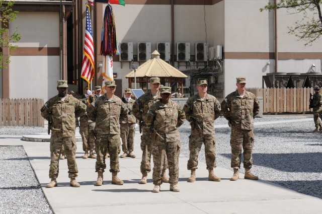 Sustainers take lead in Afghanistan