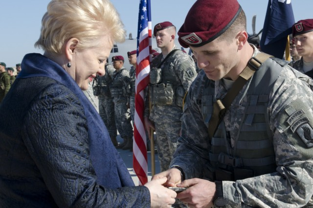 173rd ABN arrives in Lithuania