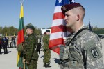 173rd paratroopers land in Lithuania