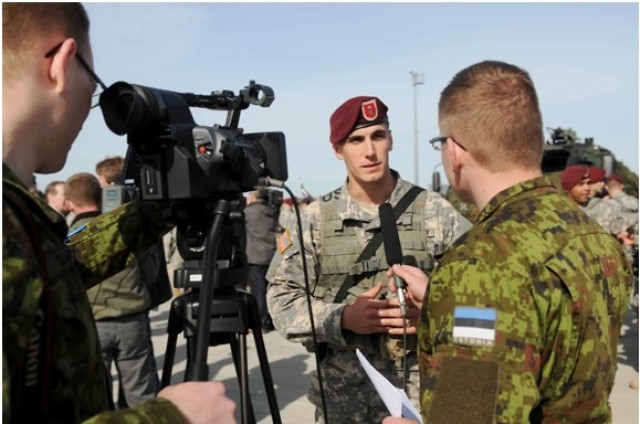 173rd conducts unscheduled training with Estonia Army
