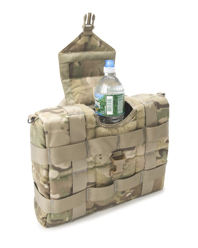 The small individual version of NSRDEC's new Insulated Container for Bottled Water