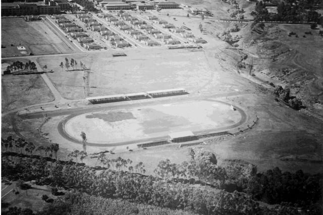 Historic Stoneman Field, Schofield Barracks, back in the day.