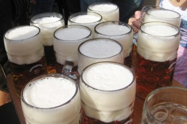 In Bavaria beer is a central part of every celebration.