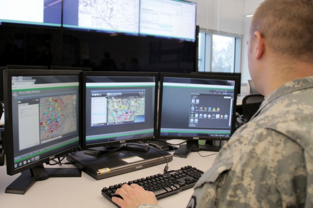 The CP CE is intended for use inside tactical operations centers by commanders and staff to synchronize operations and view a more holistic picture of the battlefield. PEO C3T's goal is a transition to a unified tactical computing environment where capabilities are seamlessly accessible, both vertically and horizontally, across the Army.