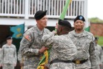 Holman relinquishes command of military police unit at Fort McHenry ceremony