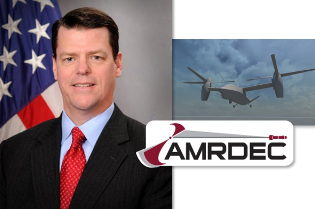 James B. Lackey serves as the acting director of the U.S. Army Aviation and Missile Research, Development and Engineering Center at Redstone Arsenal, Ala.