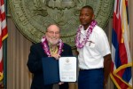 Seven honored at Hawaii Military Appreciation Month celebration