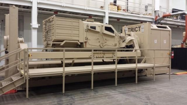 Army software researchers develop MRAP simulator