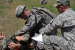 Old Guard Soldiers participate in Best Warrior Competition