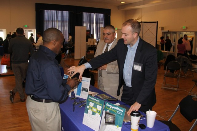 The CHS Technology Expo held April 16, 2014, at Aberdeen Proving Ground, Md., attracted more than 50 commercial vendors who demonstrated how their products could potentially help the Army reach its network modernization goals. Technologies on display aimed to improve existing capabilities by making them smaller, lighter or more intuitive to the user; by reducing power requirements; and by supporting more agile operations.