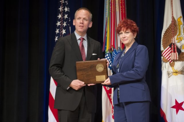 Soldier, civilian employees honored with 2014 SecArmy Awards [Image 8 of 10]