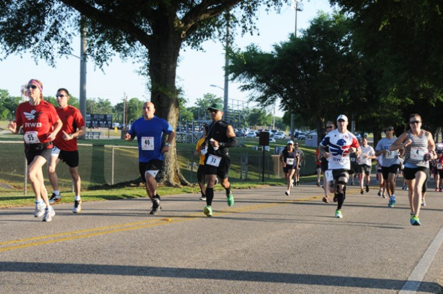 Runners of every fitness level and age compete in the Fort Rucker 10-Mile Race and Relay May 3.