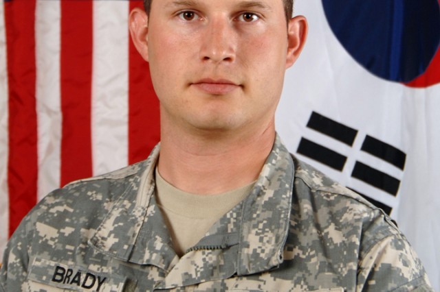 Sgt. Sean K. Brady, a fire support specialist with Apache Troop, 4th Squadron, 7th Cavalry Regiment, was picked to go to the Quicken Loans 400 NASCAR race at the Michigan International Speedway on June 15.