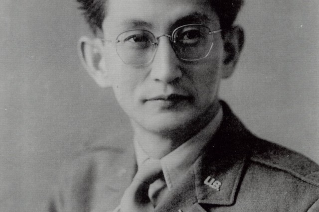 Harry K. Fukuhara as a young officer in 1948.