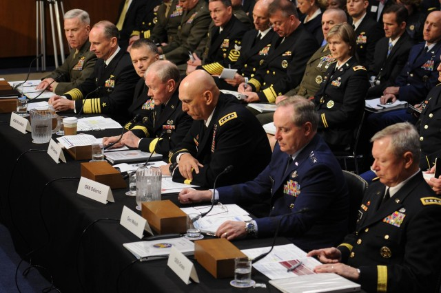 Us Military Pay Chart 2014: Joint Chiefs: Pay and benefits must remain competitive | Article ,Chart