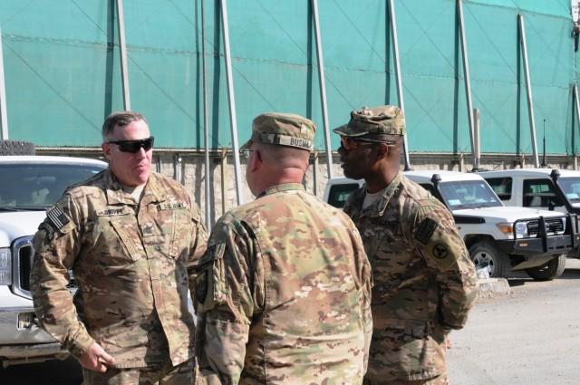 CENTCOM senior enlisted advisor visits NKC.
