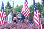 Field of Honor flag dedication for Sgt. Maj. Lubbers