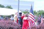 Field of Honor flag dedication for retired Command Sgt. Maj. Hoopy Qualls